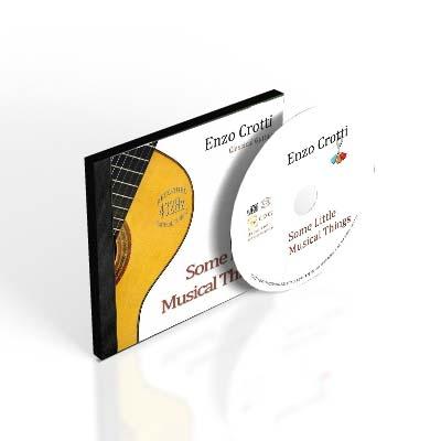 album of classical guitar, enzo crotti