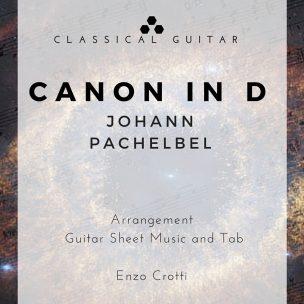 Pachelbel Canon-guitar-score-cover