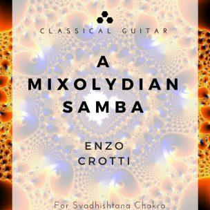 A Mixolydian Samba - Score Cover