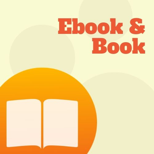 Icona ebook e libri
